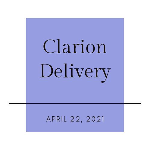 Clarion April Sangria Delivery-Please read full description