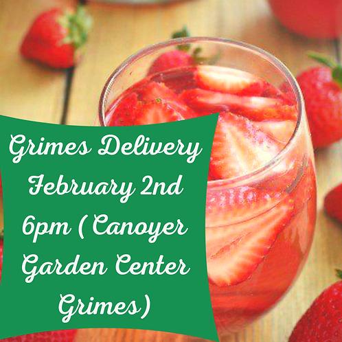 Grimes Sangria Delivery-Please read full description