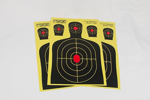 12 x 18 inch Splatter Targets