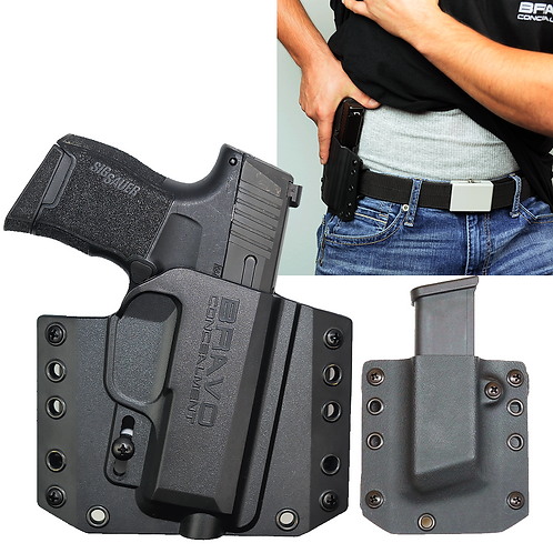 Bravo Concealment Holster: BCA 3.0  OWB + Mag Pouch