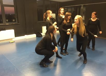 seniors rehearsal