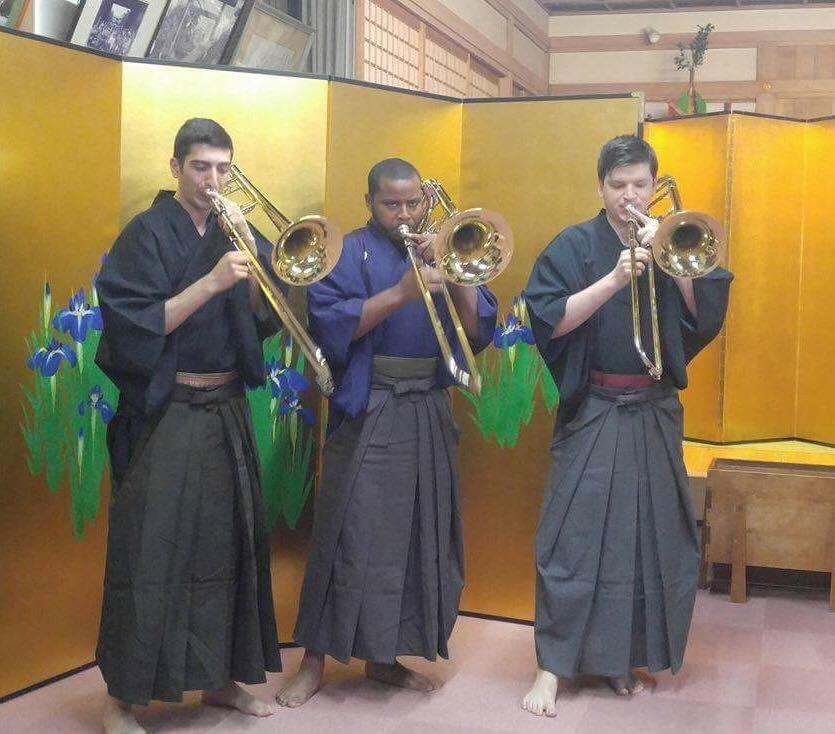 Kimono Trio with Jahleel Smith and Vlad Kalinichenko, Sapporo