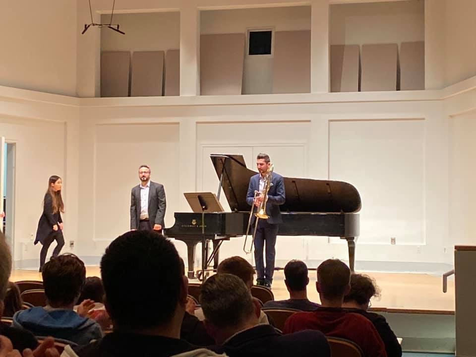 Recital at Indiana University
