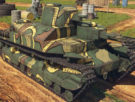 Japan Ground Forces Review in War thunder New Power 2.1 Update /IN WORK/
