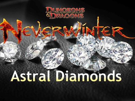 Step by step guide to Farm/Get Astral Diamonds! in Neverwinter