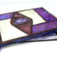 caja vidrio cobre