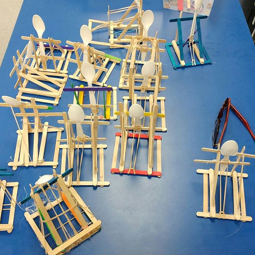 A flock of cool catapults at Kortright's