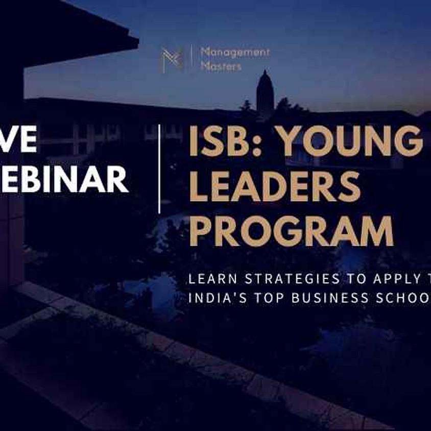 ISB Young Leaders Program: Live Webinar