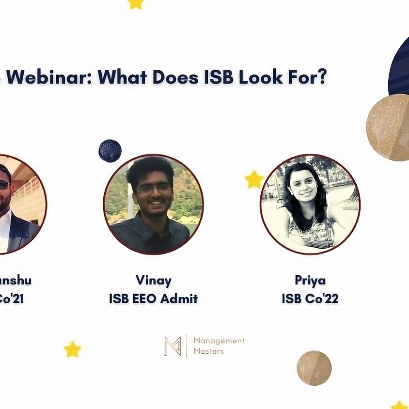 What Does ISB Look For?