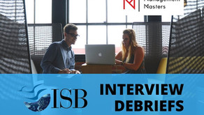 ISB Interview Debriefs