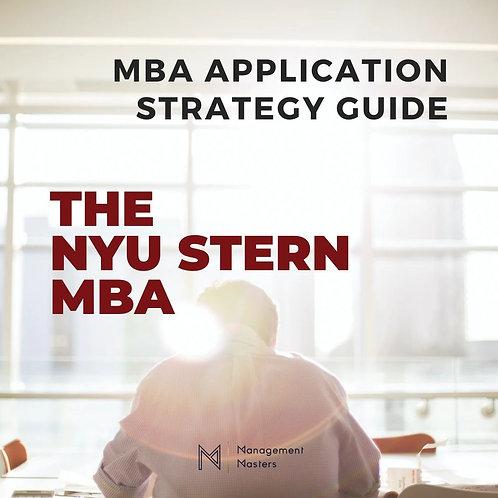 The NYU Stern MBA Strategy Guide