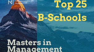 Masters in Management: Top 25 Programs