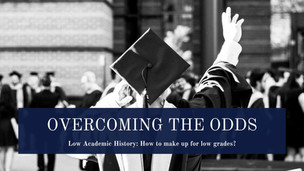 Overcoming The Odds: Low Academic History