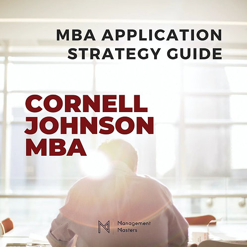 The Cornell Johnson MBA Strategy Guide