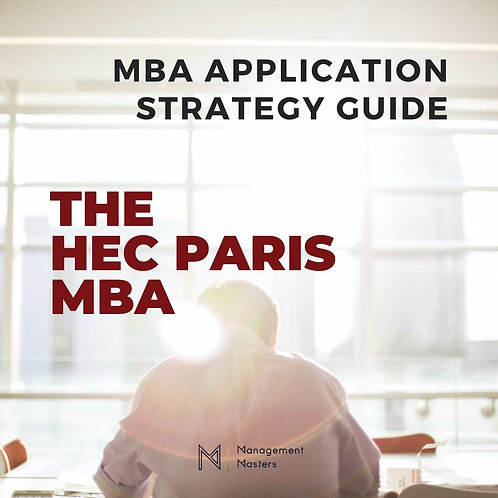 The HEC Paris MBA Strategy Guide