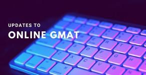 Online GMAT Updates