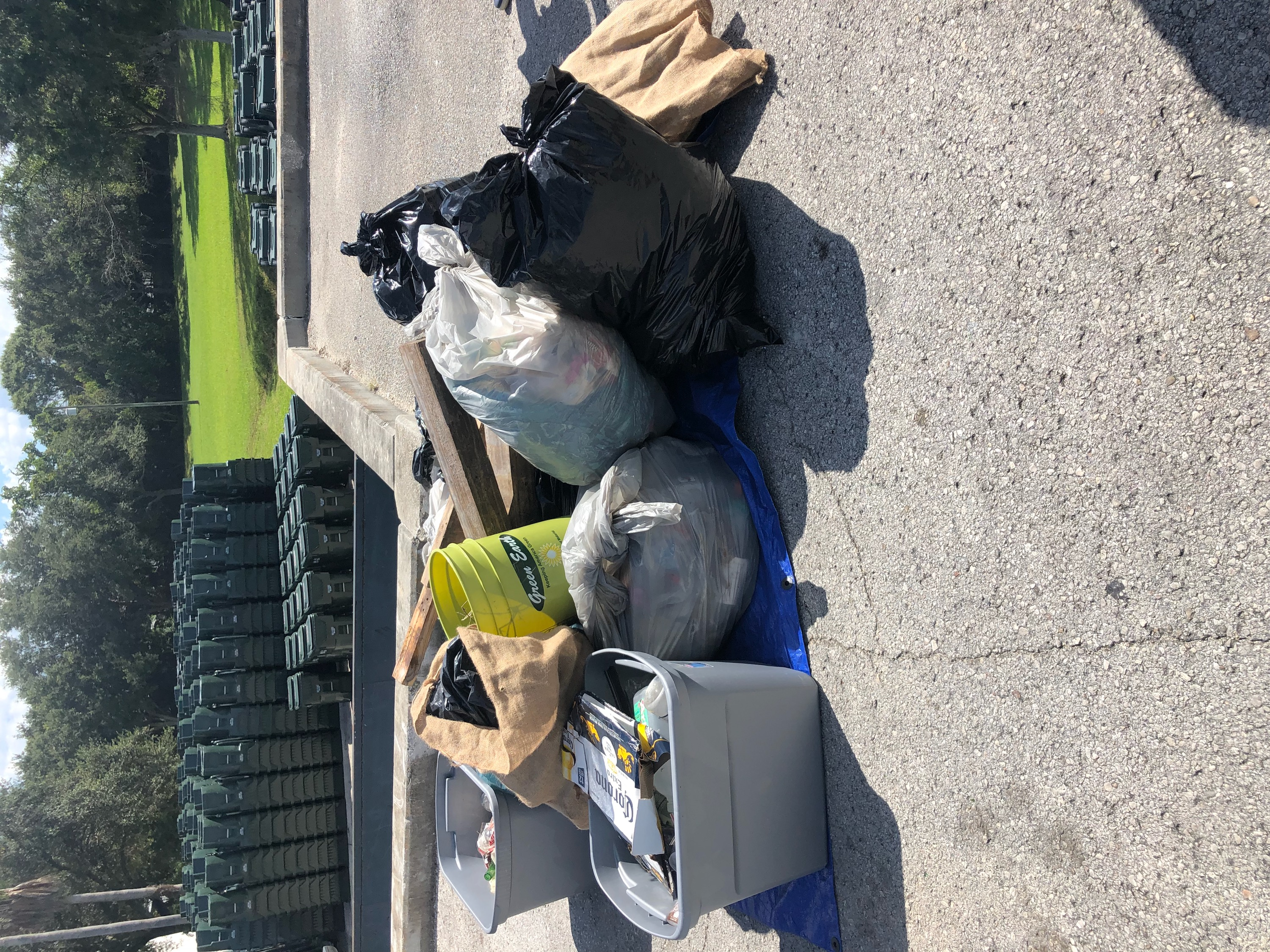 Trash from 10/20 Clean Up