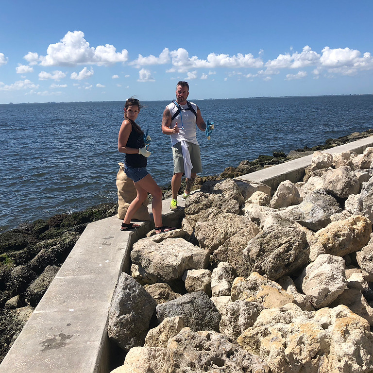 Courtney Campbell Causeway Clean Up