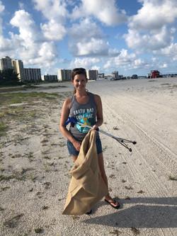 Leslie Beach Clean Up