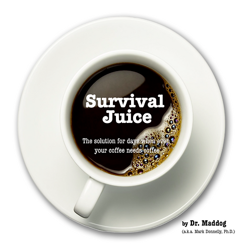 Survival Juice: The solution for days that even your coffee needs coffee