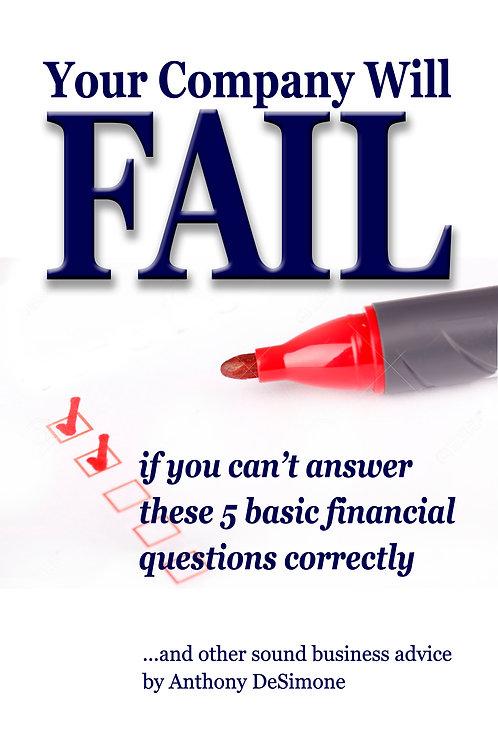 Your Company Will Fail