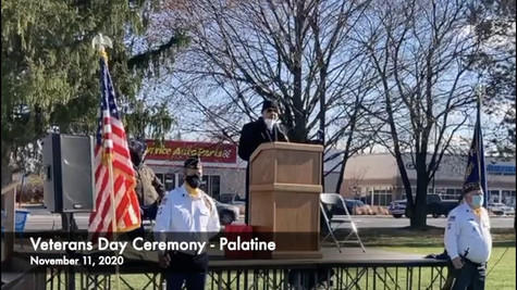Veterans Day 2020 Ceremony and M5 Return