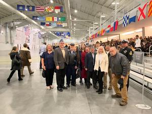 Post 690 at Great Lakes Naval Training Center Graduation
