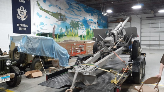 M5 at the Veteran's Garage