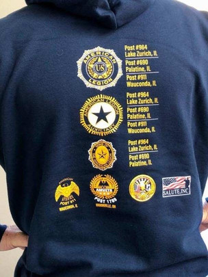 American Legion Hooded Sweatshirt. Order yours today.