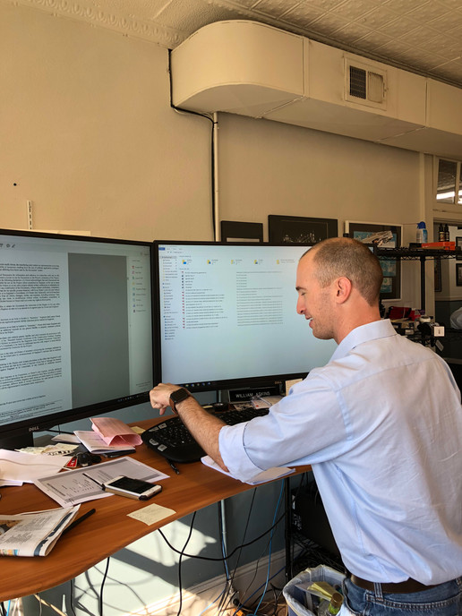 William Askins Working with USDA