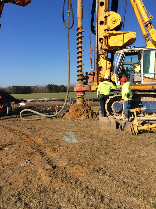 Drilling for the Tank