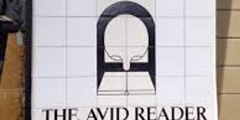 Reading/signing at the Avid Reader in Davis, CA