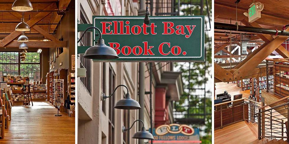Reading at Elliott Bay Books, Seattle