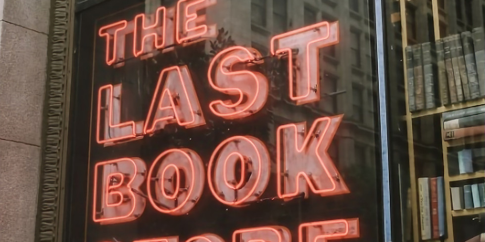 Reading and Signing at The Last Bookstore, Downtown Los Angeles