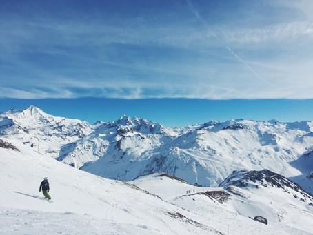 French Alps: A snowboarding wonderland