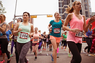 Women Running Marathon