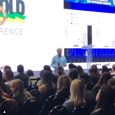 Palestra no Arnold Conference 2019