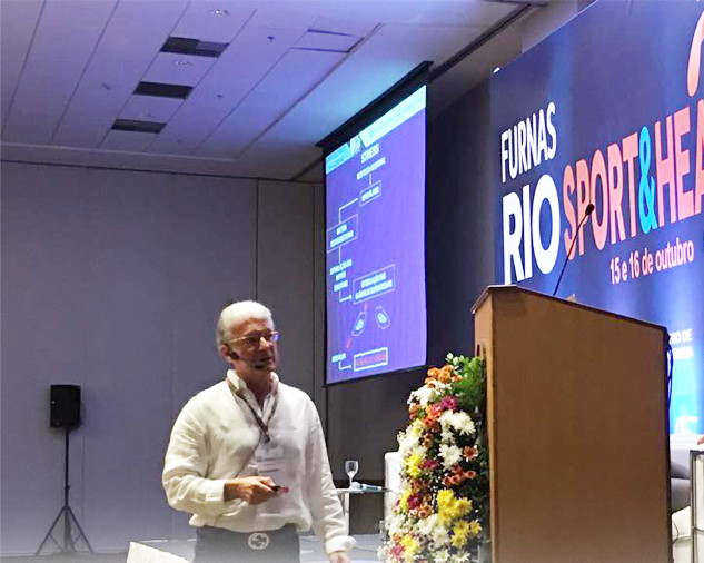 Palestra no Rio Sport & Health 2016