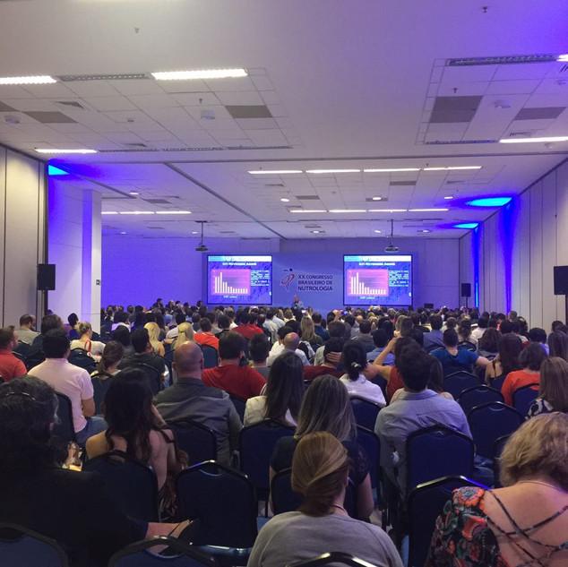 Palestra no XX Congresso Brasileiro de Nutrologia (2016)