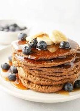 Vegan Buckwheat & Blueberry Pancakes (gf)