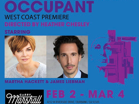 Edward Albee's Occupant at the Garry Marshall Theatre