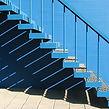 Blue Stairway