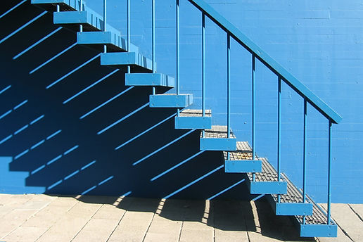 블루 계단