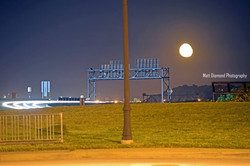 Interstate Moon Rise.