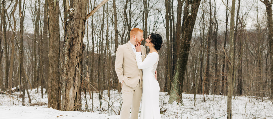 Sarah + Kevin | Seven Springs Cabin Wedding