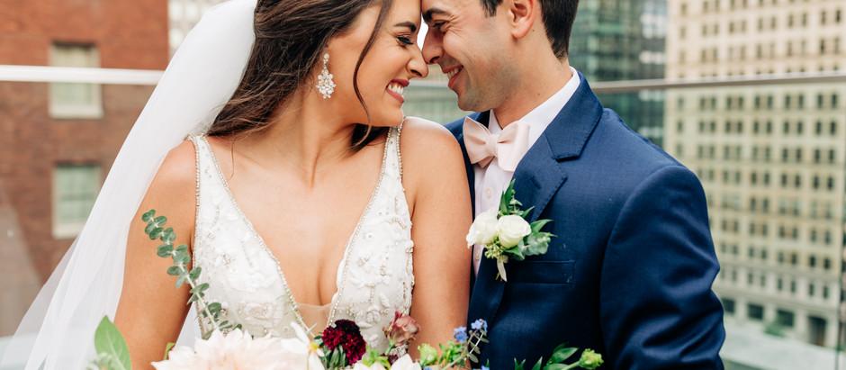 Mairead + Tom | Hotel Monaco, Church of Epiphany and Backyard Wedding