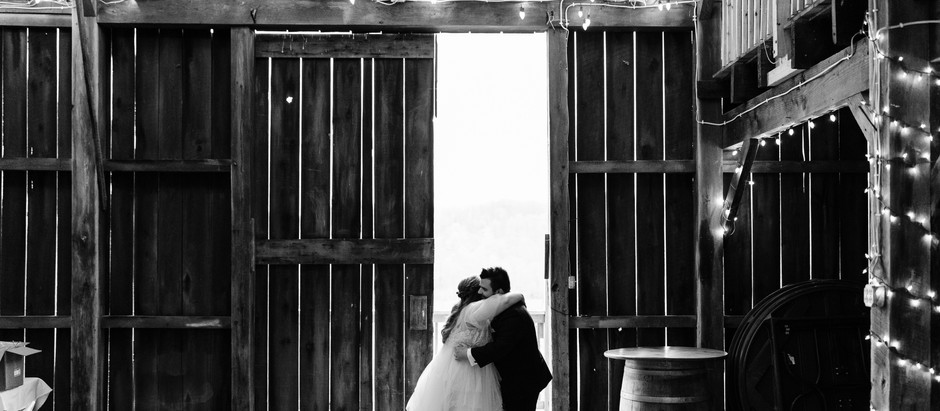 Stephen + Becca   Blue Ribbon Farms Wedding