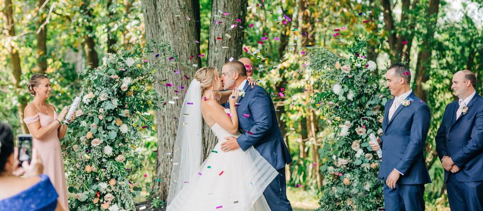 Renee + Greg | Backyard Wedding