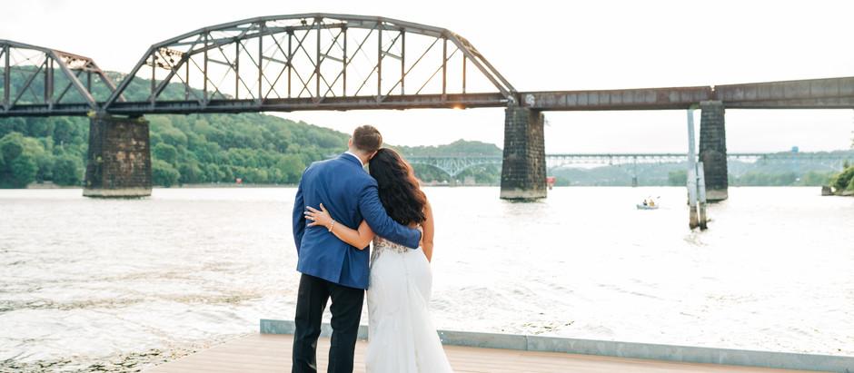 Kaitlynn + Anthony | Riverfront Wedding
