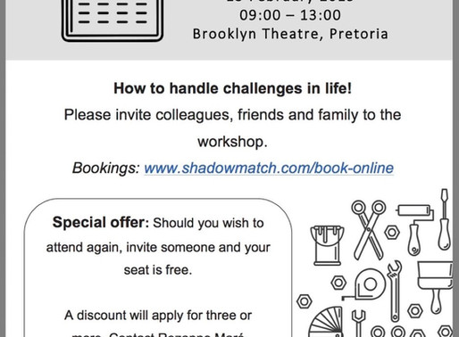 Shadowmatch Newsletter - December 2018